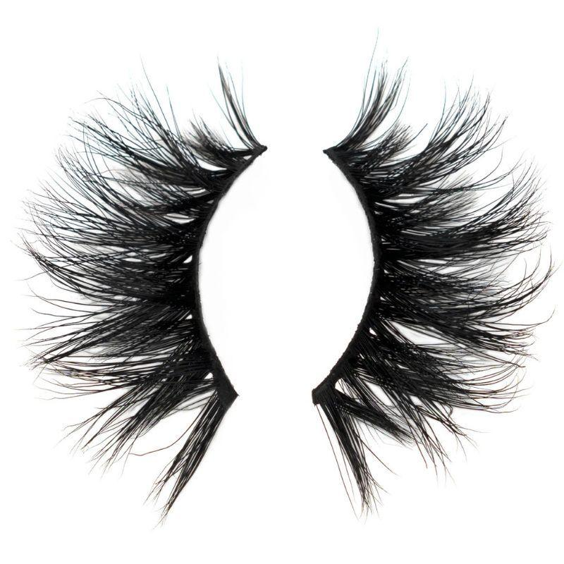 August 3D Mink Lashes 25mm - Sakema Premium Hair Extensions