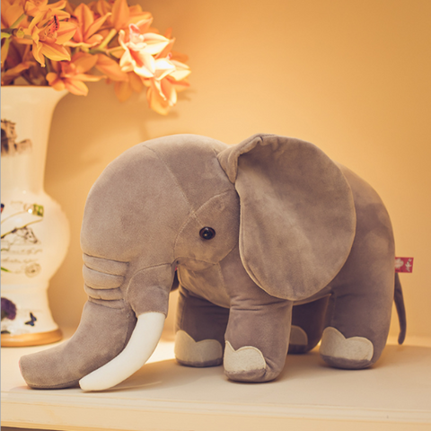 Image of plush elephant toy - Gifts For Family Online