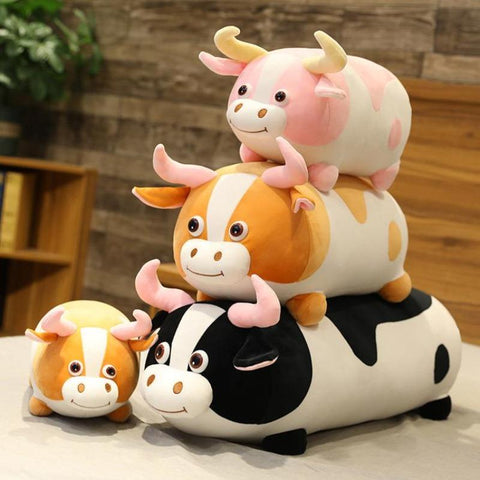 Image of cow plush toy - Gifts For Family Online