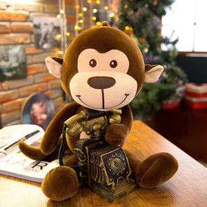 cute monkey stuffed animal - Gifts For Family Online