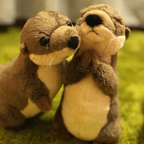 Image of kawaii otter plush - Gifts For Family Online