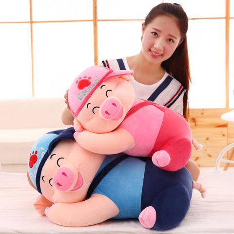 Image of pig stuffed animal big - Gifts For Family Online