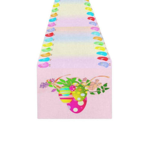 "72"" Pink Easter Table Runner Easter Celebration Home Decor - Gifts For Family Online"
