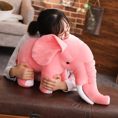 Image of pink elephant plush toy - Gifts For Family Online