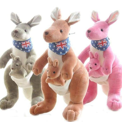 Image of kangaroo plush - Gifts For Family Online