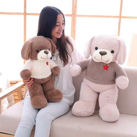 large plush dog toys - Gifts For Family Online