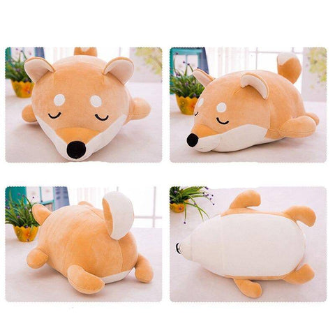 Image of Plush Toy Stuffed Dog Soft Kawaii Pillow Gifts For Kids Children Adults Cute Gifts