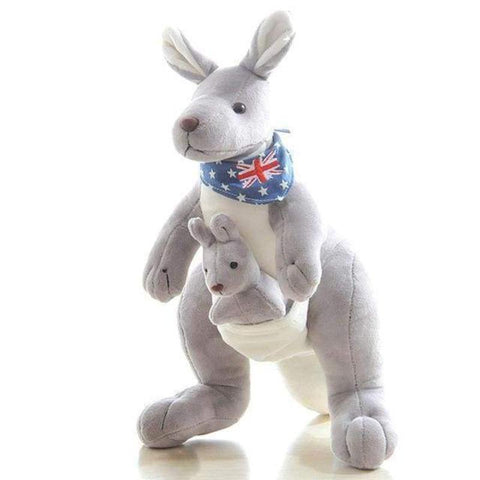 Image of kangaroo stuffed animal - Gifts For Family Online