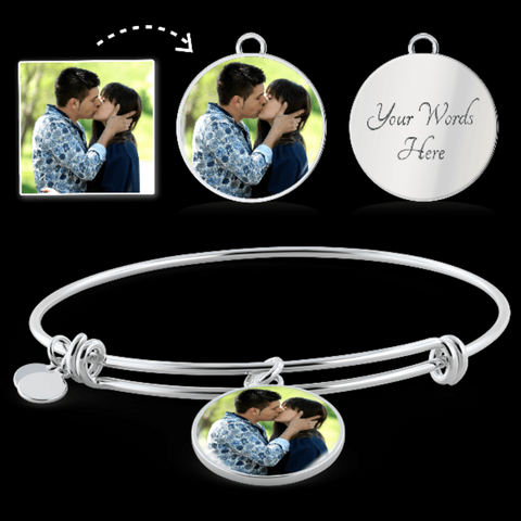 Image of custom photo bracelets - Gifs For Family Online