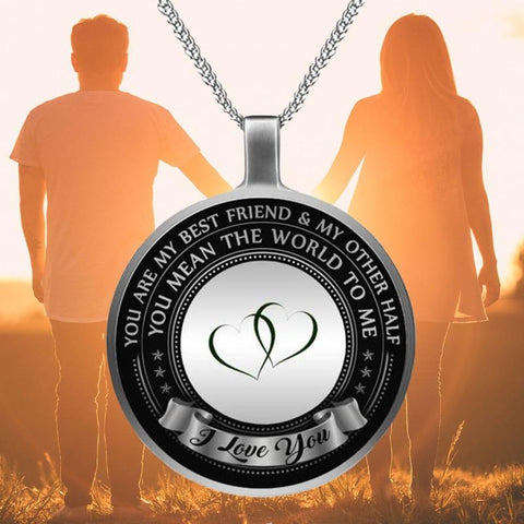Image of message necklace - Gifts For Family Online