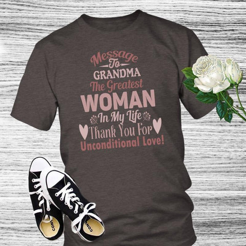 Image of Grandma Shirt Gift For Grandma Mother's Day - Gifts For Family Online