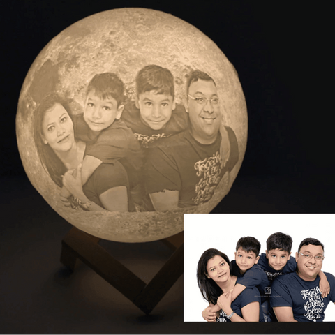 engraved moon lamp - Gifts For Family Online