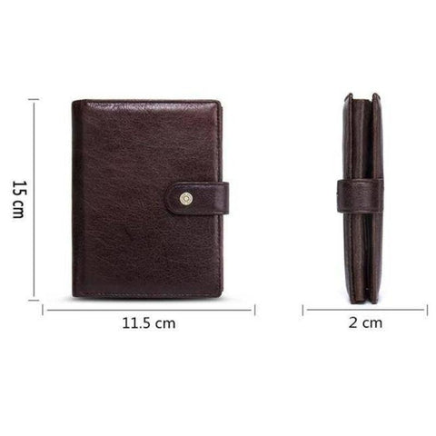 large leather mens wallet - Gifts For Family Online