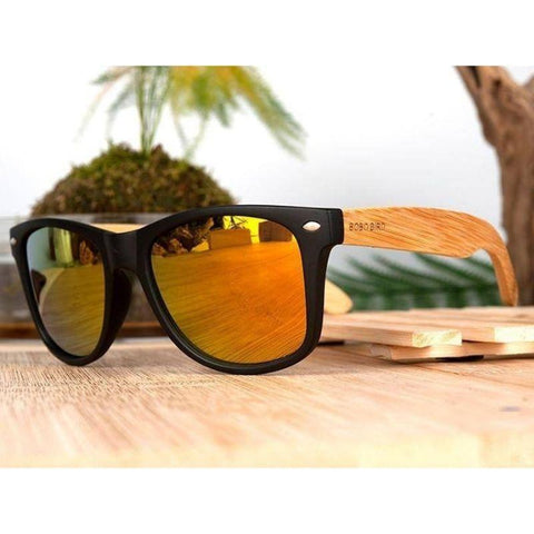 Image of bamboo sunglasses - Gifts For Family Online