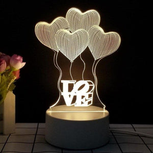 3d night light