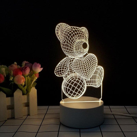 Image of led light 3d