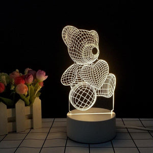 led light 3d