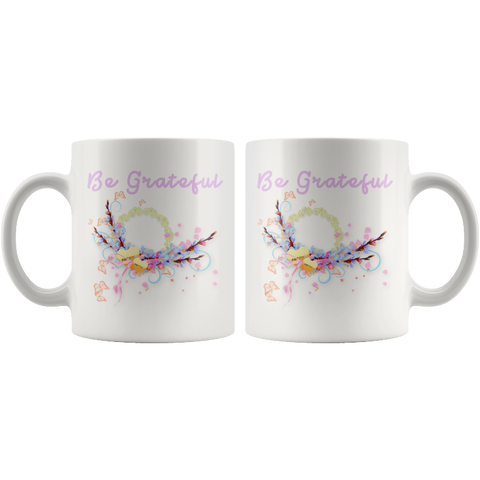 Be Grateful Easter Mugs Coffee Mug For Easter - Gifts For Family Online