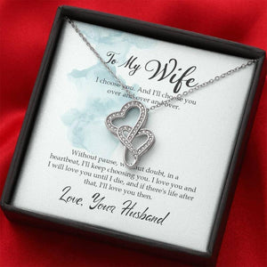 To My Wife Necklace - Gifts For Family Online