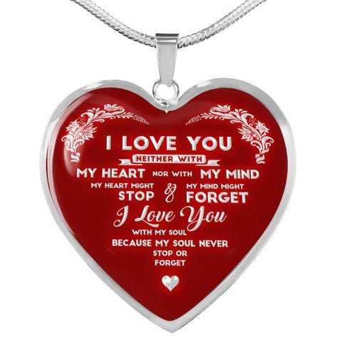 Image of valentines necklaces for girlfriend - Gifts For Family Online
