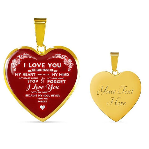 Image of i love you necklace - Gifts For Family Online