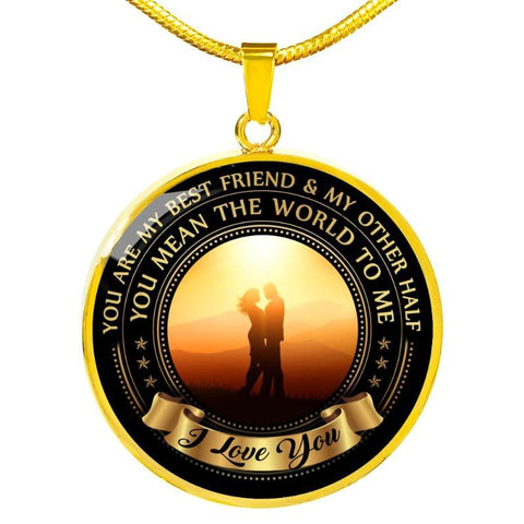 Image of couple necklace - Gifts For Family Online