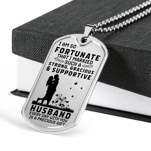Image of necklace for husband - Gifts For Family Online
