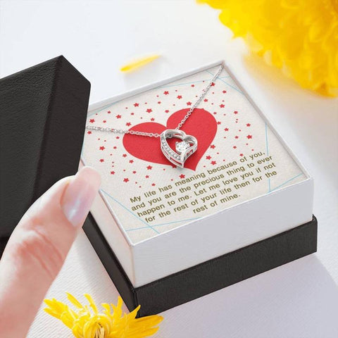 Image of heart necklace - Gifts For Family Online