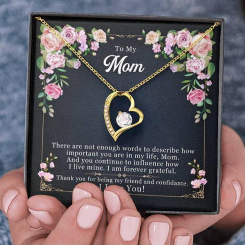 necklace for mom - Gifts For Family Online
