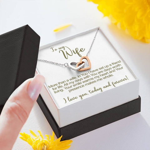 future wife necklace - Gifts For Family Online