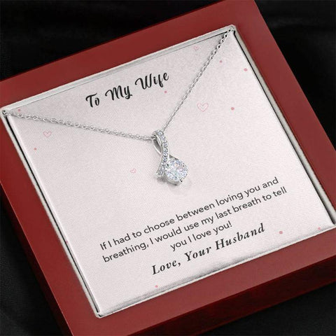necklace with message card - Gifts For Family Online