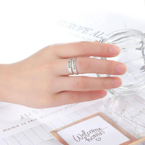 Image of customize rings - Gifts For Family Online