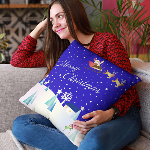 christmas throw pillow - Gifts For Family Online