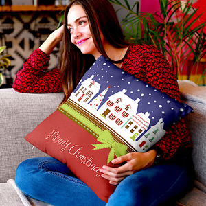 Merry Christmas Throw Pillow Case Gifts For Christmas