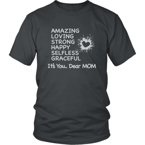 Image of Dear Mom Shirt Gift For Mom Mother's Day Gift - Gifts For Family Online