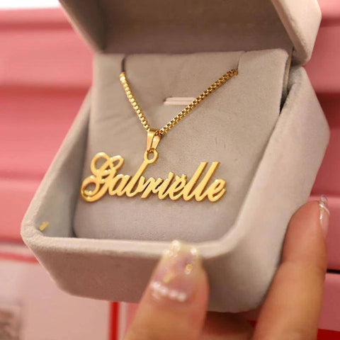 Image of my name necklace - Gifts For Family Online