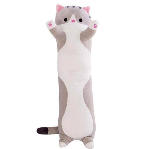Cat Stuffed Animals 50cm Cute Long Pillow Home Decor