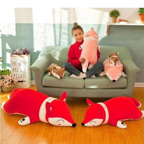 Image of soft fox toy - Gifts For Family Online