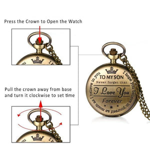 customized pocket watch - Gifts For Family Online