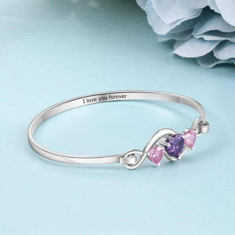 Image of custom birthstone bracelet - Gifts For Family Online