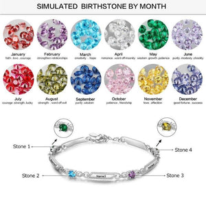 family birthstone bracelet - Gifts For Family Online