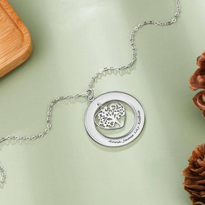 family tree necklace - Gifts For Family Online