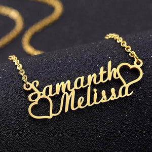 personalised name necklace - Gifts For Family Online
