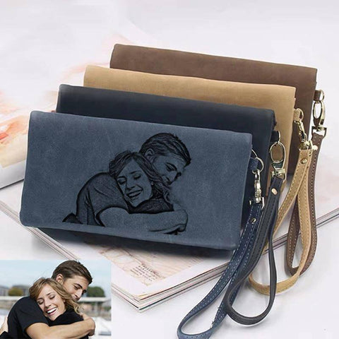 Personalized Women's Wallet Custom Photo Wallets Unique Gifts For Her