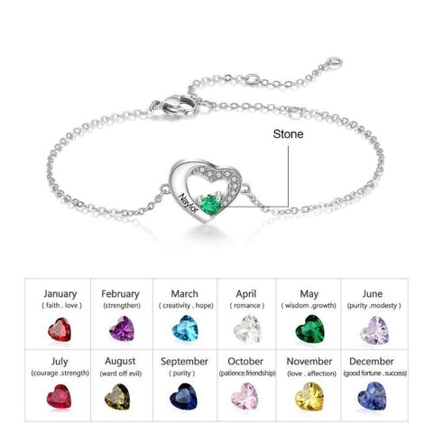 birthstone bracelet - Gifts For Family Online