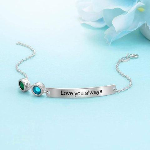 custom name bracelets cheap - Gifts For Family Online