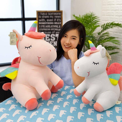 Image of unicorn stuffed toy - Gifts For Family Online