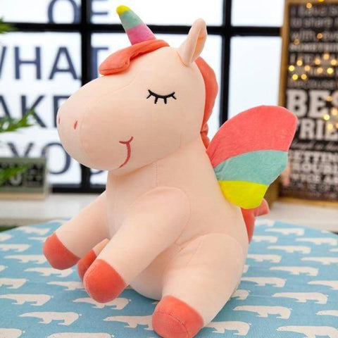 25cm Cute Rainbow Unicorn Plush Toys