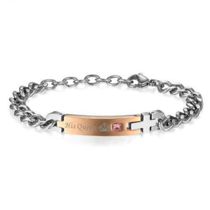 Queen and King bracelets - Gifts For Family Online