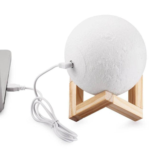 Image of custom made moon lamp - Gifts For Family Online